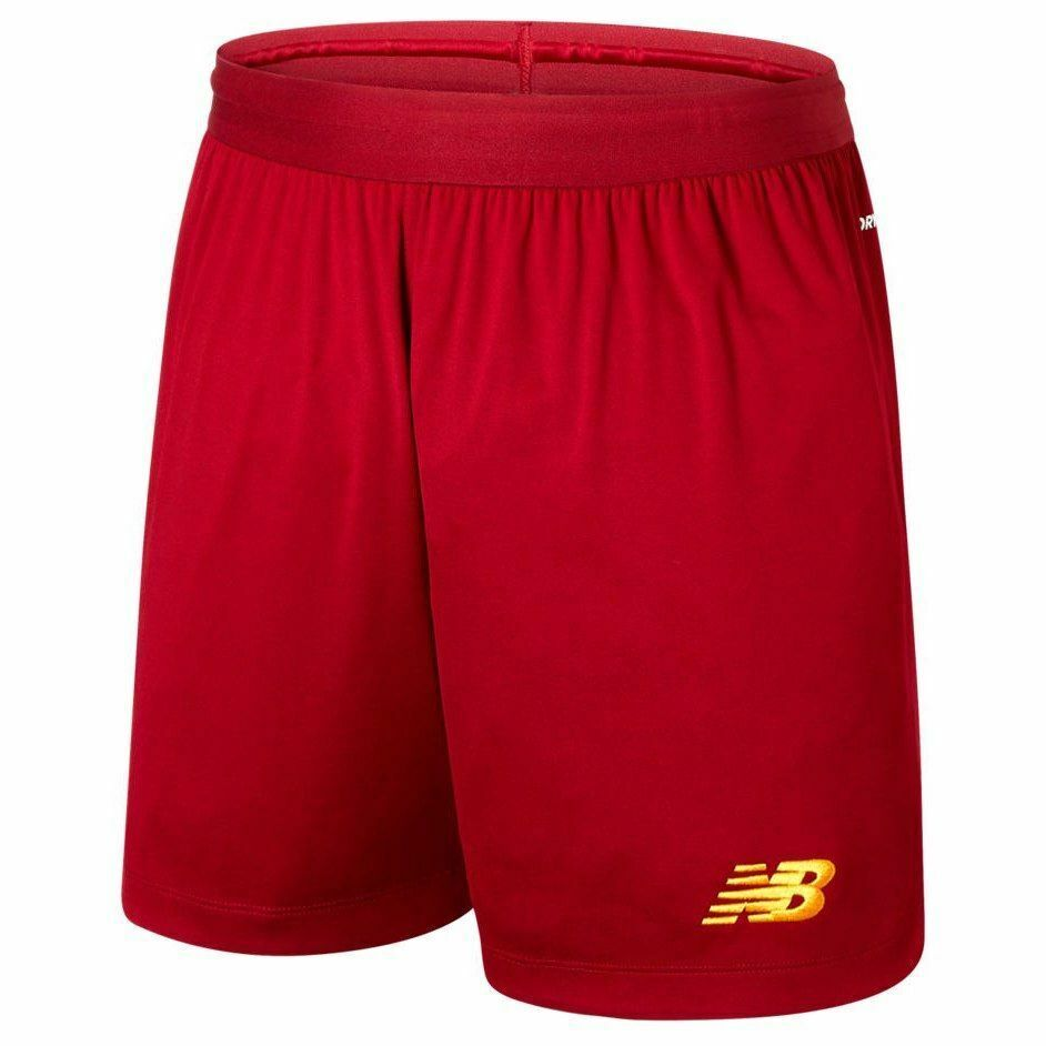 New Balance Liverpool FC 2019  2020 Home Soccer Shorts Brand New rosso  giallo