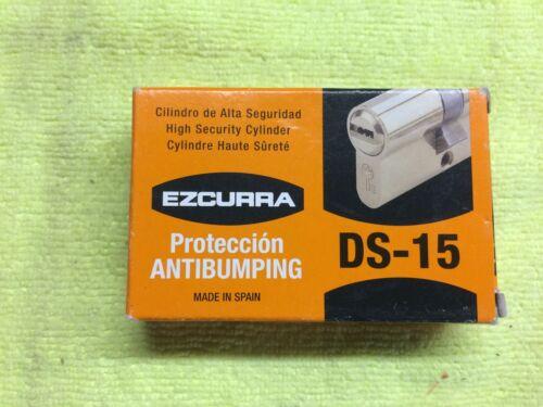 35x35 de haute sécurité cylindre 5 clés barillet serrure anti-Bump pour Externe portes