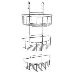 duschregal zum einh ngen an duschwand oder armatur duschablage metall duschkorb 4251346191129 ebay. Black Bedroom Furniture Sets. Home Design Ideas