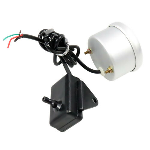 2/'/' 52mm Universal Auto Car Red Digital LED Electronic Vacuum Gauge Meter
