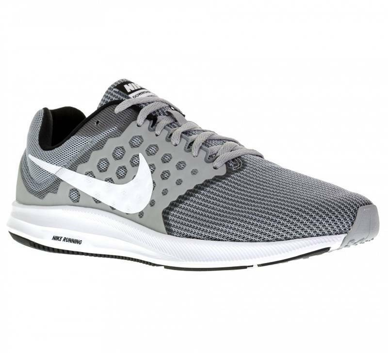 NIKE DOWNSHIFTER 7 LO RUNNING TRAINER MEN SHOES WOLF GREY 852459-007 SZ 10.5 NEW