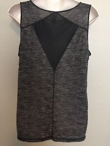 ccdfde55ac6 Details about (NWT) Womens Ideology Black Space Dyed Mesh Racer Back Tank  Top Plus Size 3X