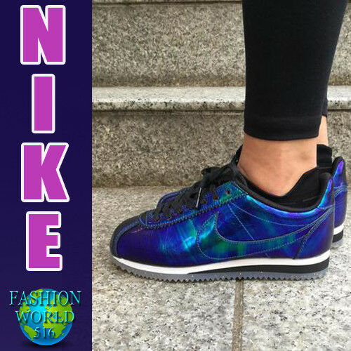 cheap for discount 8f4ab b61db Womens Nike Classic Cortez Leather SE XLV Shoes Size 7.5 Soar 902854 400  for sale online  eBay