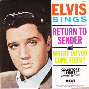 """ELVIS PRESLEY - Return To Sender 7"""" 45"""