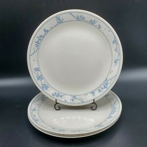Set-of-4-Corelle-First-of-Spring-10-1-4-034-034-Dinner-Plates-NICE