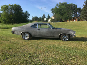 1968 Chevy ll Nova Coupe V-8 Automatic New Crate Engine Turn Key