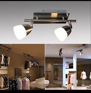 Led deckenlampe sx8228 02a 2x5w deckenleuchte balken for Deckenleuchte led balken