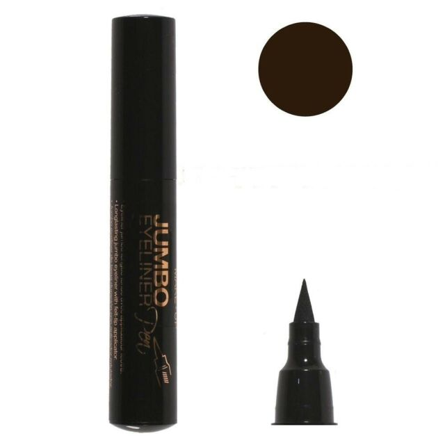 Eyliner jumbo longue tenue avec applicateur feutre.brun