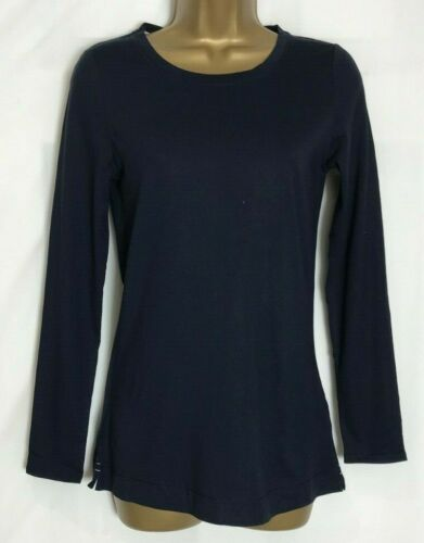 White Stuff Cotton Modal Jersey Long Sleeved Top 3 Colours 8-18 ws-72h