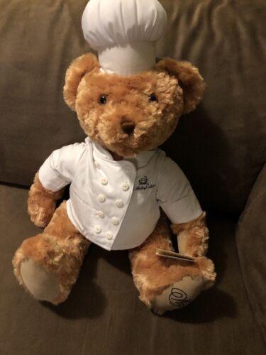 The Waldorf Astoria Hotel Chef Cook Bear 18 Inch Plush Stuffed Animal Toy