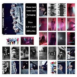 Fashion-Cute-30pcs-Box-Kpop-MONSTA-X-Collective-Photo-Card-Lomo-Card