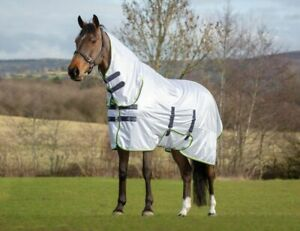 **FREE FAST P/&P** Shires Asker UV Combo Neck Fly Rug