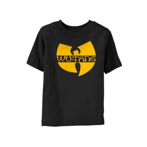 Wu-Tang Clan Logo Official Child Toddler Black T-Shirt