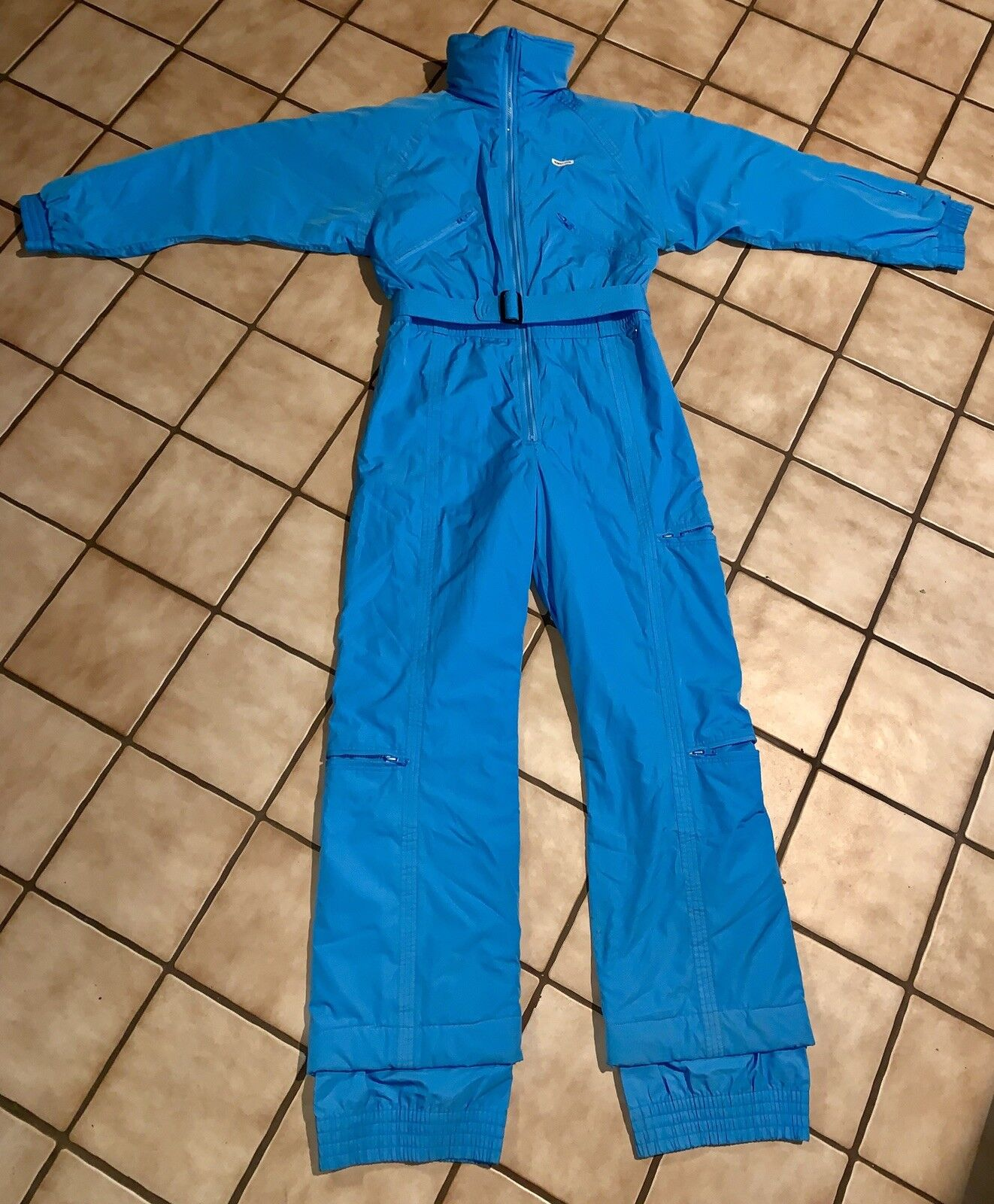 Vintage Robert John One Piece Ski  Snowsuit Women size 10 Baby bluee Nice  wholesale price and reliable quality