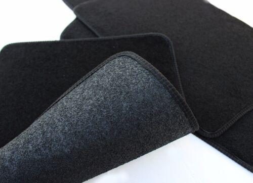 Fußmatten Automatten Velours für Seat Altea 2004-2015 4tlg schwarz ohne Bef.