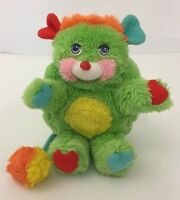 "Mattel Popples 8"" Putter Popple Green Plush Toy No Tag"