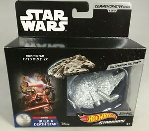 STAR-WARS-HOT-WHEELS-STARSHIPS-MILLENNIUM-FALCON-DIE-CAST-9-OF-9-EPISODE-IX-NEW