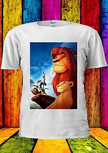Disney Le Roi Lion Simba T-shirt Gilet Débardeur Hommes Femmes Unisexe 114-afficher Le Titre D'origine