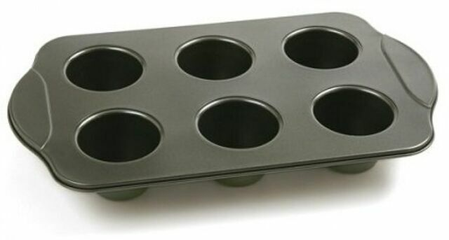 Norpro 3974 Nonstick 6 Cup Linking Popover Pan For Sale Online Ebay