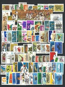 AUSTRALIA 100 DIFFERENT MIXED STAMPS ALL DECIMAL MINT UNHINGED MUH