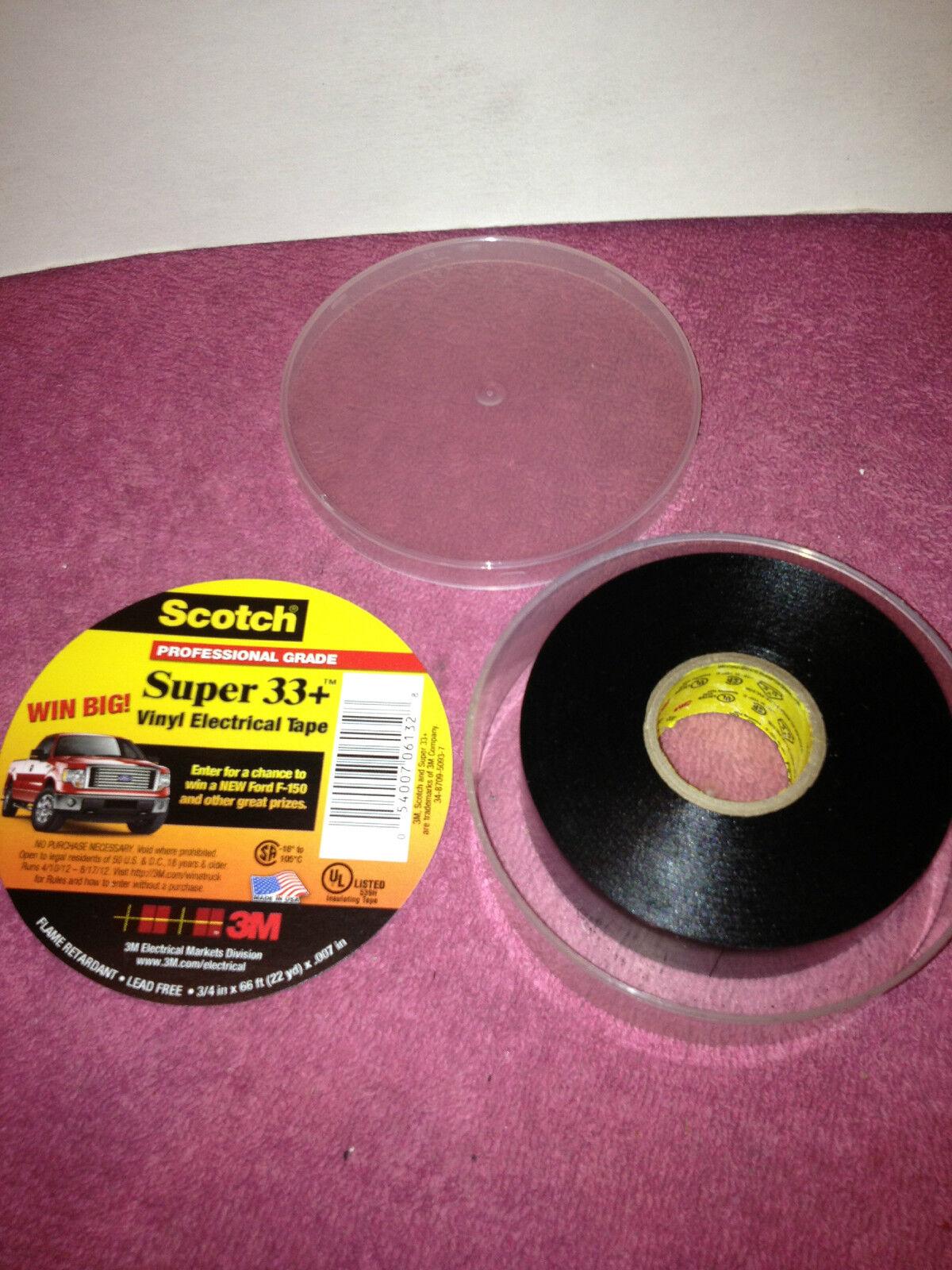 3M Electrical Tape Scotch Super 33 vinyl electrical tape 5400706132