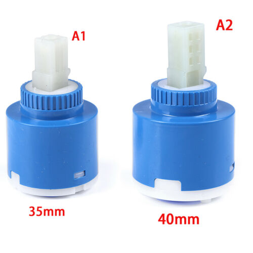 35//40mm Replacement Ceramic Disc Cartridge Inner Faucet Valve Water Mixer Tap DG