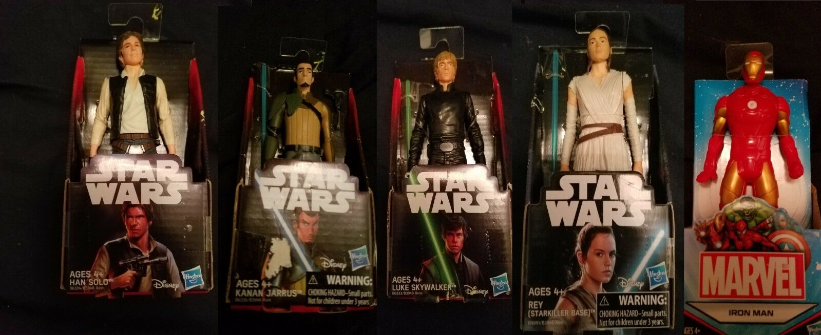 BRAN NEW Star Wars Action Figure Collectible Toy Lot Great gift