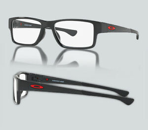 893f6edeced New Oakley OX 8121 AIRDROP MNP 812102 Polished Black Eyeglasses ...