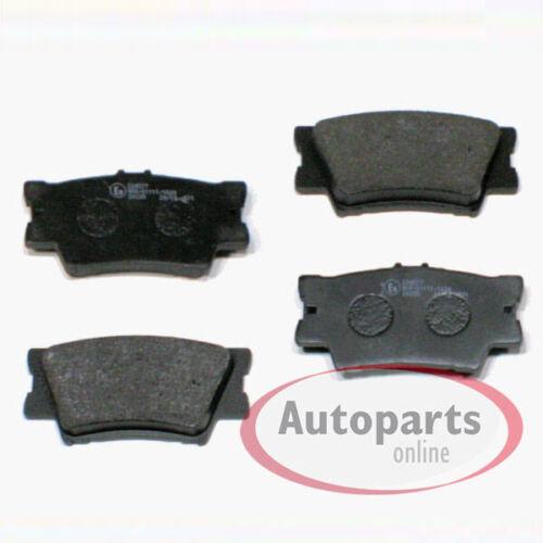 Bremsscheiben Bremsen Bremsbeläge für vorne hinten Hyundai Terracan HP
