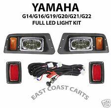 Yamaha G14-G22 Golf Cart Adjustable LED LIGHT KIT,  LED Head & LED Tail Lights