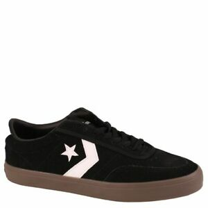 Image is loading Converse-Courtlandt-Black-Brown-White-Suede-Men-Size- 0ee8128d53