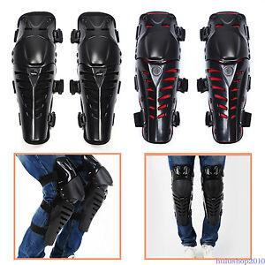 Newest Knee Shin Armor Protector Guard Pads for Motorcycle Bike Racing Fashion