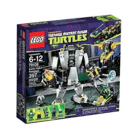 LEGO Teenage Mutant Ninja Turtles Turtles Turtles Baxters Roboter (79105) NEU UND OVP ebd6b6