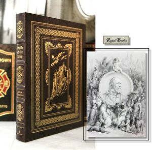 IDYLLS OF THE KING - Easton Press - TENNYSON - Famous Editions -DORE ILLUSTRATED