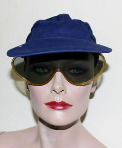 Details about Impreonole vintage cap with built in flip sunglasses 6 5/8  small size distress