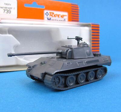 Roco Minitanks H0 739 Panzer-Kampfwagen Panther G HO 1:87 EDW WWII Wehrmacht OVP
