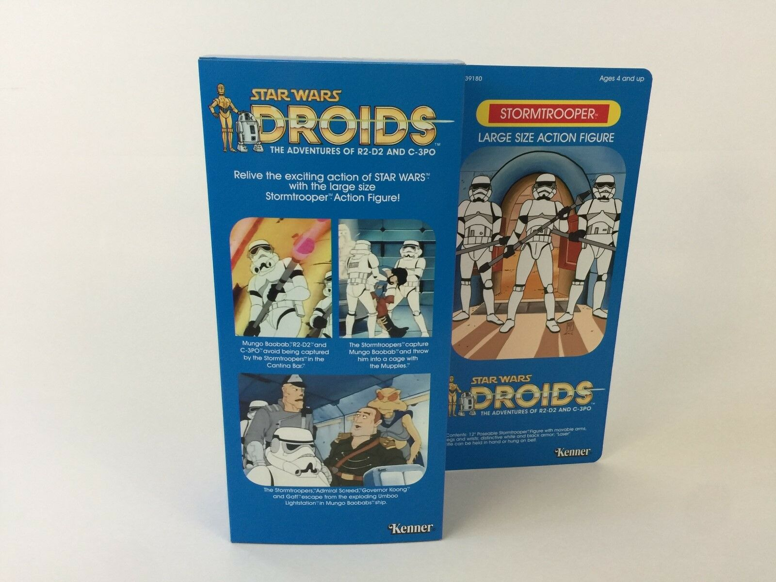 Custom vintage Star wars droids 12 12 12  stormtrooper box + inserts e5fc53