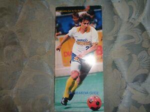 1987 88 San Diego Sockers Media Guide Yearbook Misl Champions