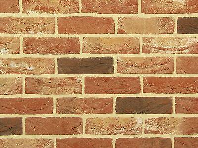 Handform-verblender Wdf Bh177 Rot Bunt Klinker Vormauersteine Backsteine Ein GefüHl Der Leichtigkeit Und Energie Erzeugen Fassade Baustoffe & Holz