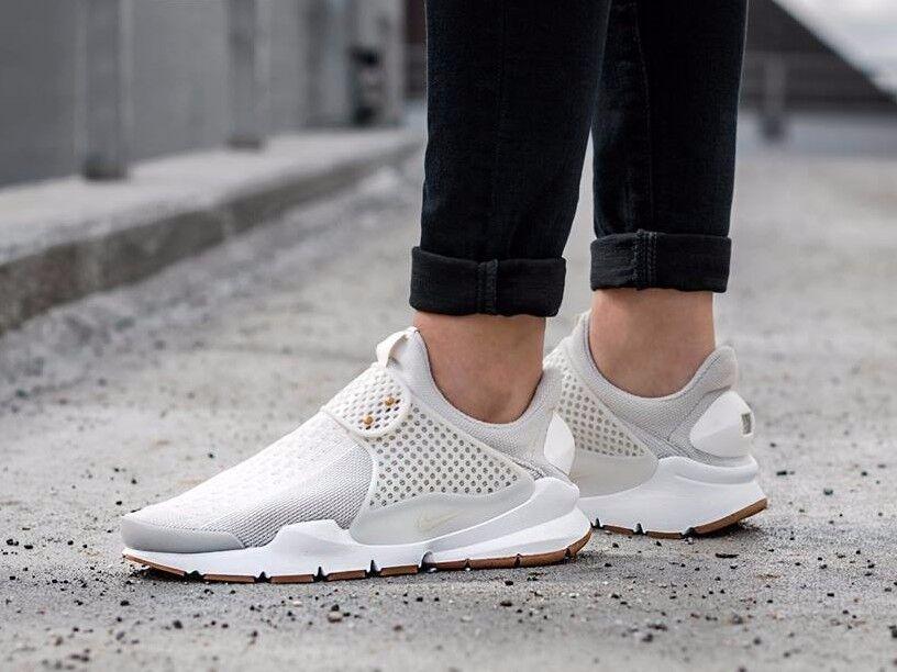 Recortes de precios estacionales, beneficios de descuento Nike Mujeres Calcetín Dart hueso de Luz/Aspa Zapatillas Size (848475 002)