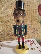 Airedale Terrier ~ Nutcracker Dog Soldier Ornament #57