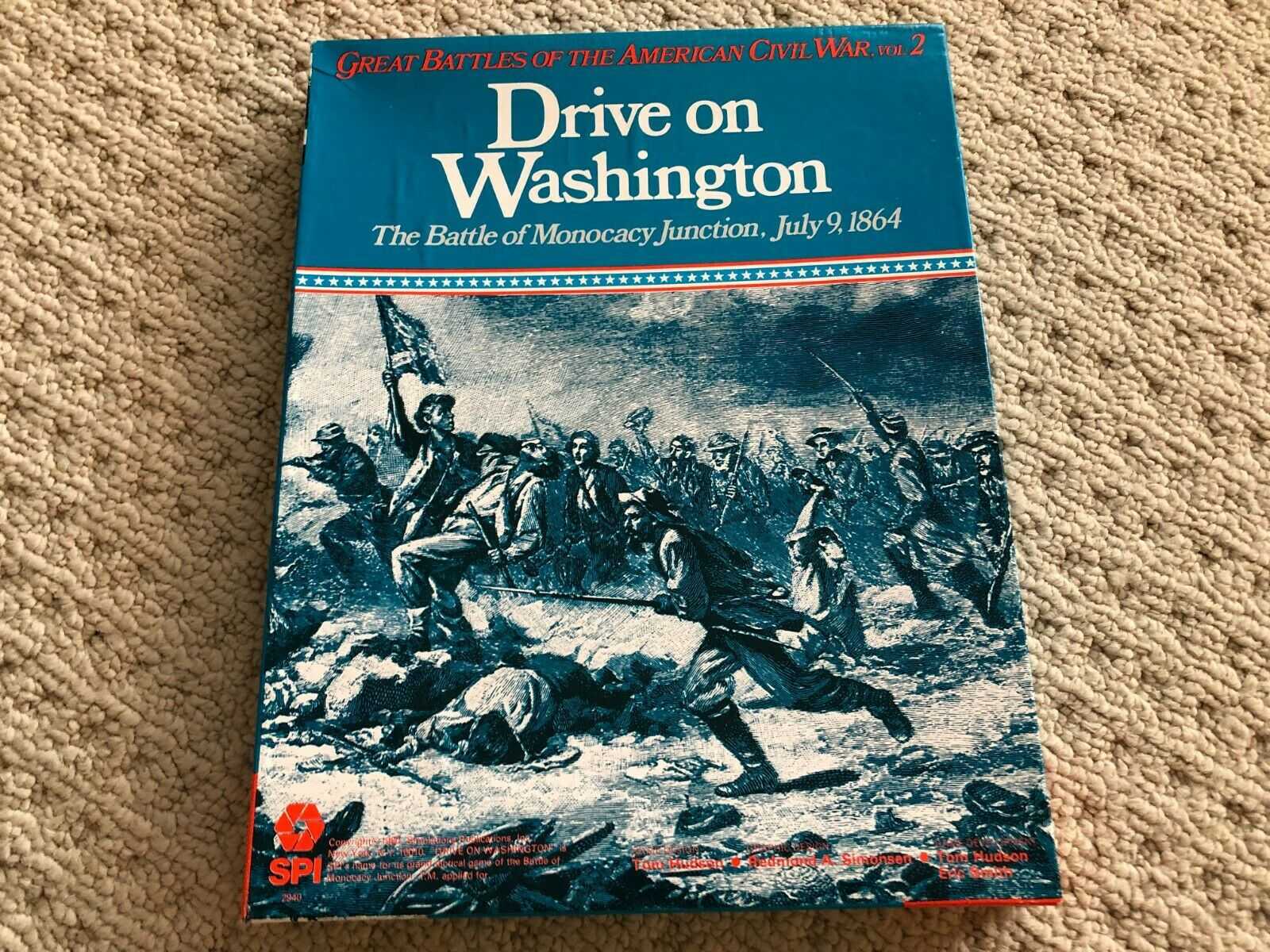 Drive On Washington The Battle Of Monocacy Junction SPI 1980 Unpunched