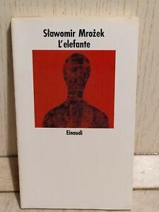 L-039-Elefante-Slawomir-Mrozek-Einaudi-Racconti-Letteratura-polacca-1988