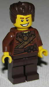LEGO Bausteine & Bauzubehör Lego Neu Ninjago Ninja Dareth 70751 Minifig Figur