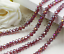 Rondelle-Round-Czech-Crystal-Glass-Faceted-Beads-2x3-3x4-4x6-6x8mm-Jewellery thumbnail 25