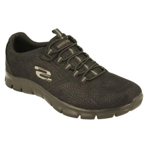 Zapatillas mujer de con de Charge' Skechers 'take negra deporte espuma para memoria r6rqAw