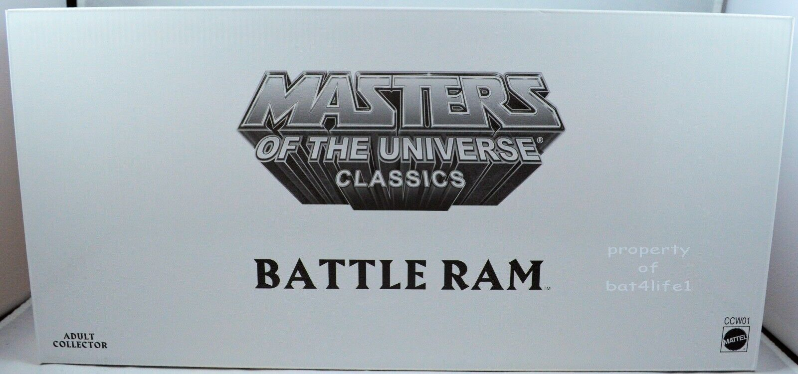 Masters of the Universe Classics BATTLE RAM NEW MOC