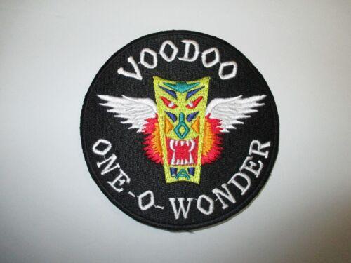 b4906 US Air Force Vietnam F101 Voodoo One O Wonder Patch IR21C