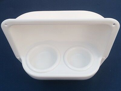 Storage Holder For Glass/Bottle/Mug. 290mm. Marine/Motorhome/Caravan/Campervan
