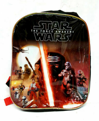 STAR Wars 1 NUOVO con confezione Bambini Scuola Disney Borsa Grande Zaino Zaino Pe Borse a tracolla